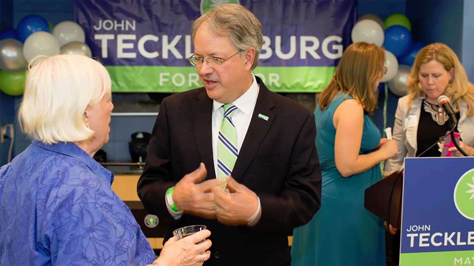 The Oblander Group Congratulates Charleston, SC Mayor-Elect, John Tecklenburg on Winning Runoff Election